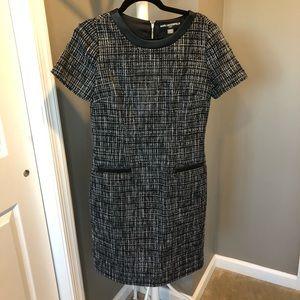 Tweed short sleeve dress!